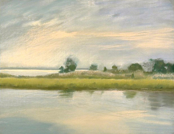 Tilghman Marsh : Originals : Susan Davis Art | artist, painter, illustrator, New Yorker covers, artwork, limited edition signed prints
